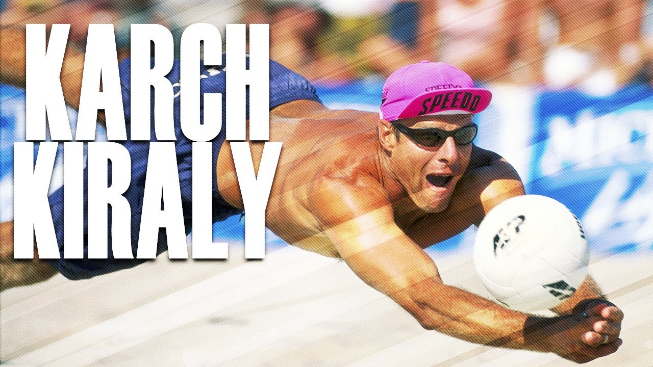 Beach Volleyball LEGEND Karch Kiraly (USA)