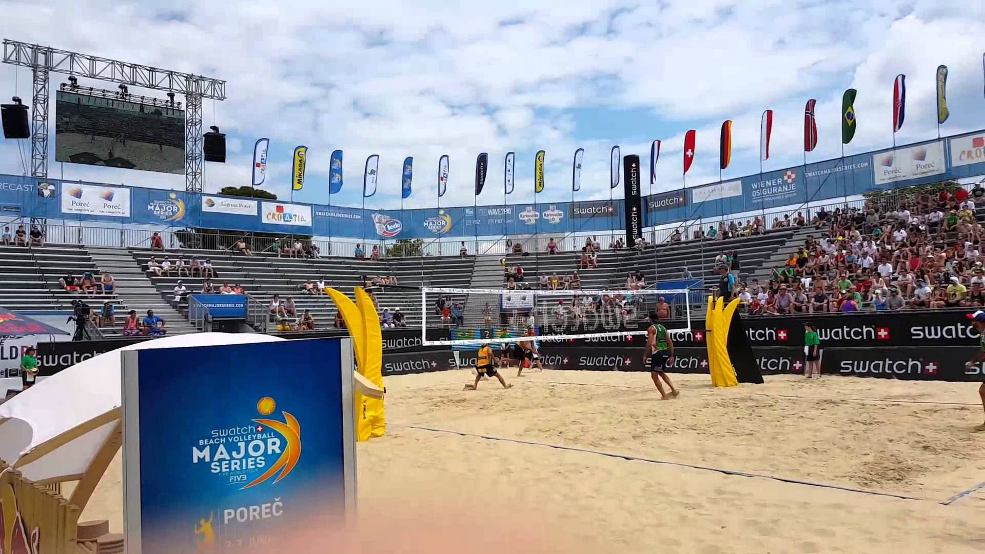 Adrian Carambula Skyball at Beach Majors...