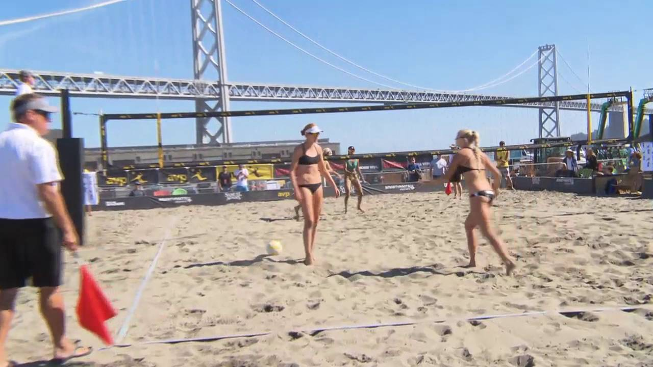 AVP San Francisco Open 2016 Womens...
