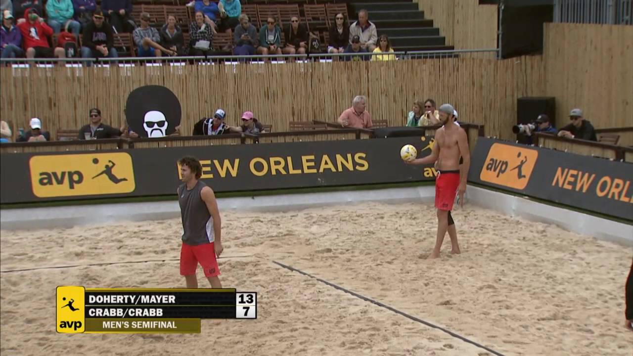 AVP New Orleans 2016 Mens Semi-Finals:...