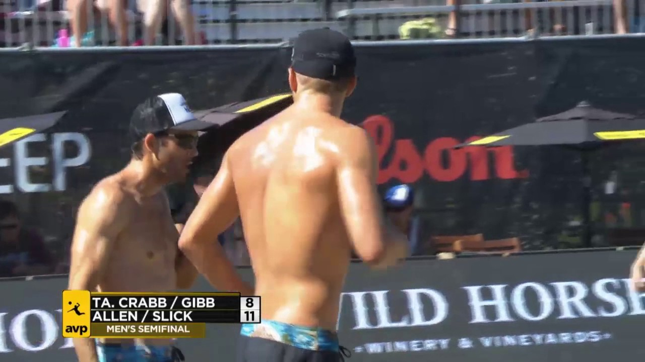 AVP Seattle Open 2017 Mens Semi-Final:...