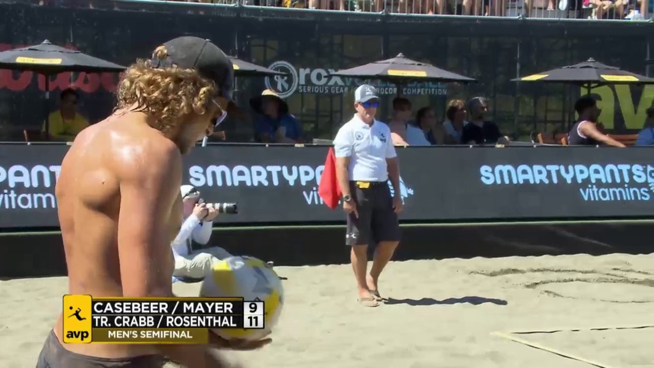 AVP Seattle Open 2017 Mens Semi-Finals:...