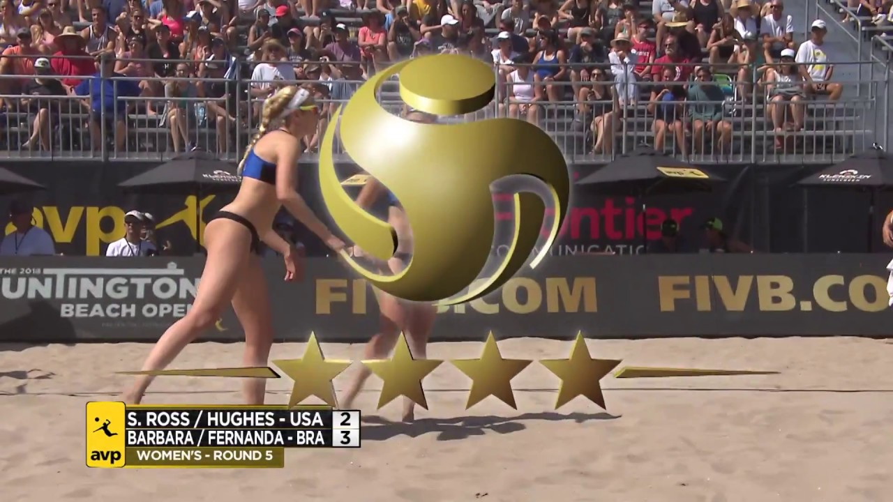 2018 FIVB Huntington Beach Open: Ross/Hughes...