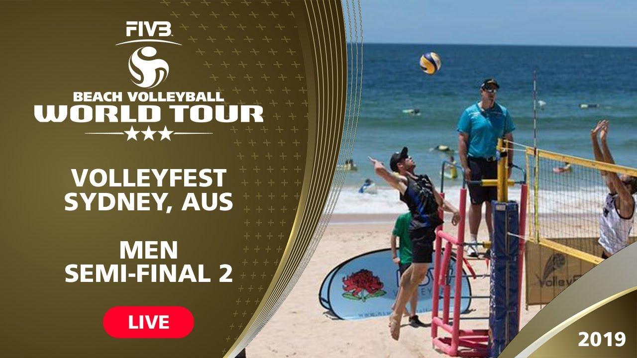 Sydney 3-Star 2019 - Men Semifinal 2 - Beach...