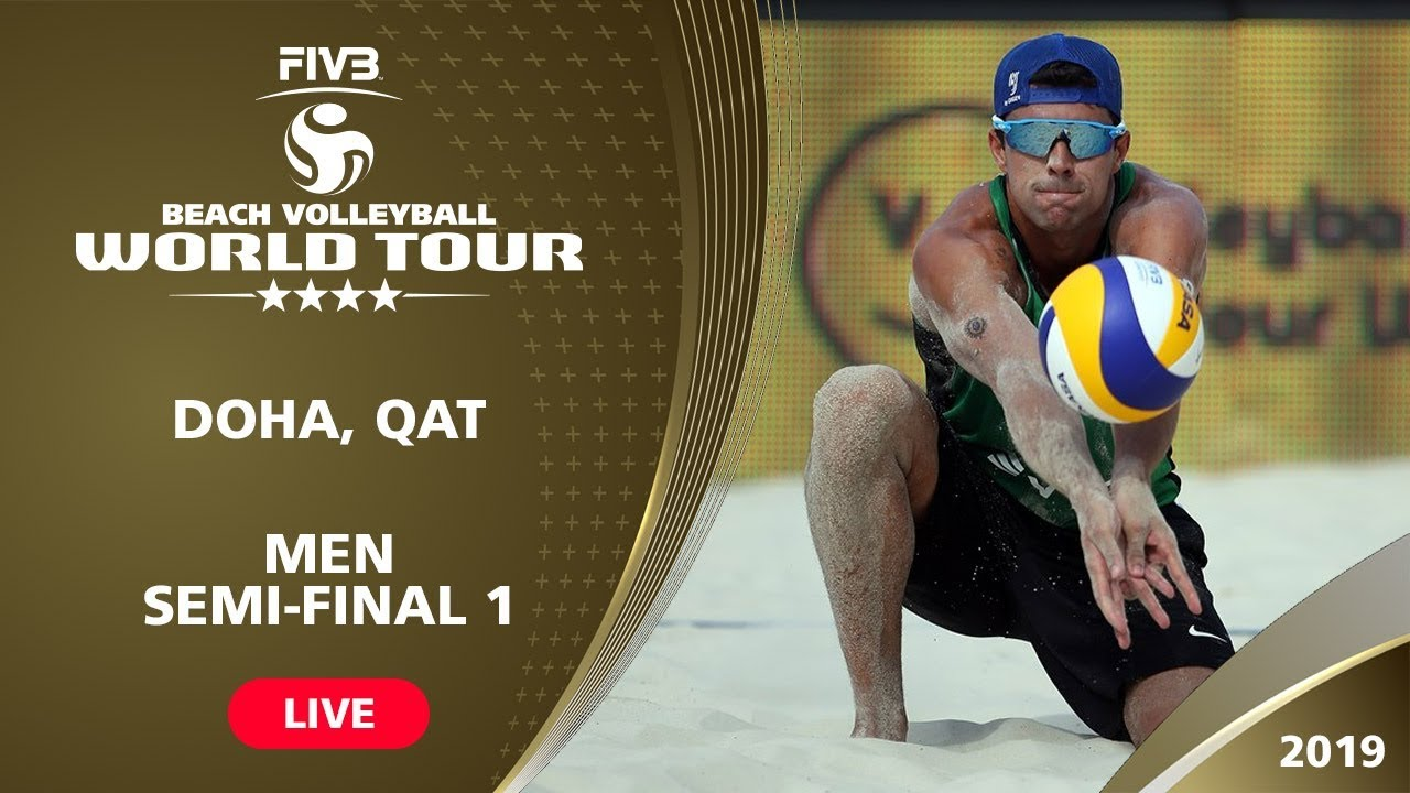Doha 4-Star 2019 - Men Semi-Final 1 - Beach...