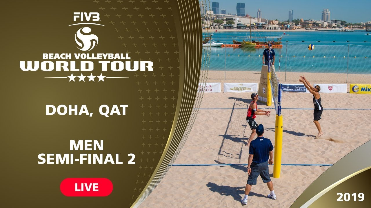Doha 4-Star 2019 - Men Semi-Final 2 - Beach...