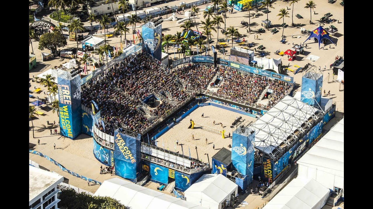 Beach Volleyball Major Series 2018 Calendar