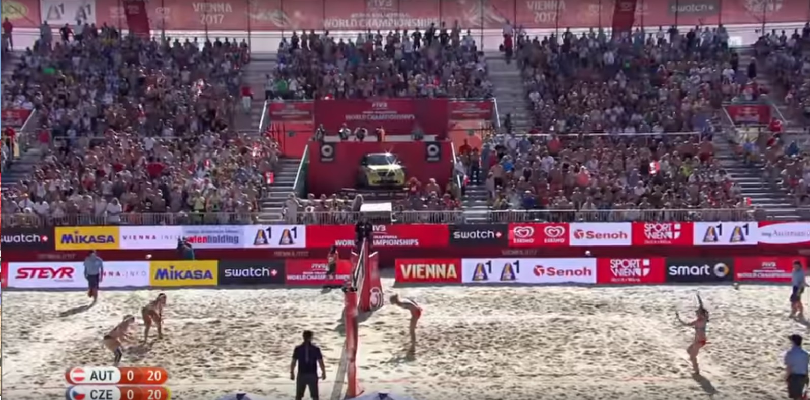 #WorldChampsVienna - surely not another save?