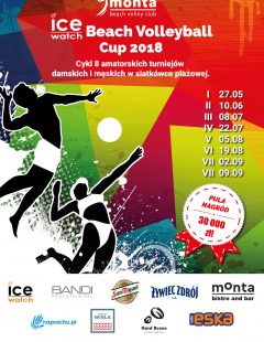 VIII Ice-Watch Beach Volleyball Cup 2018