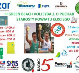 III Green Beach Volleyball o Puchar Starosty...